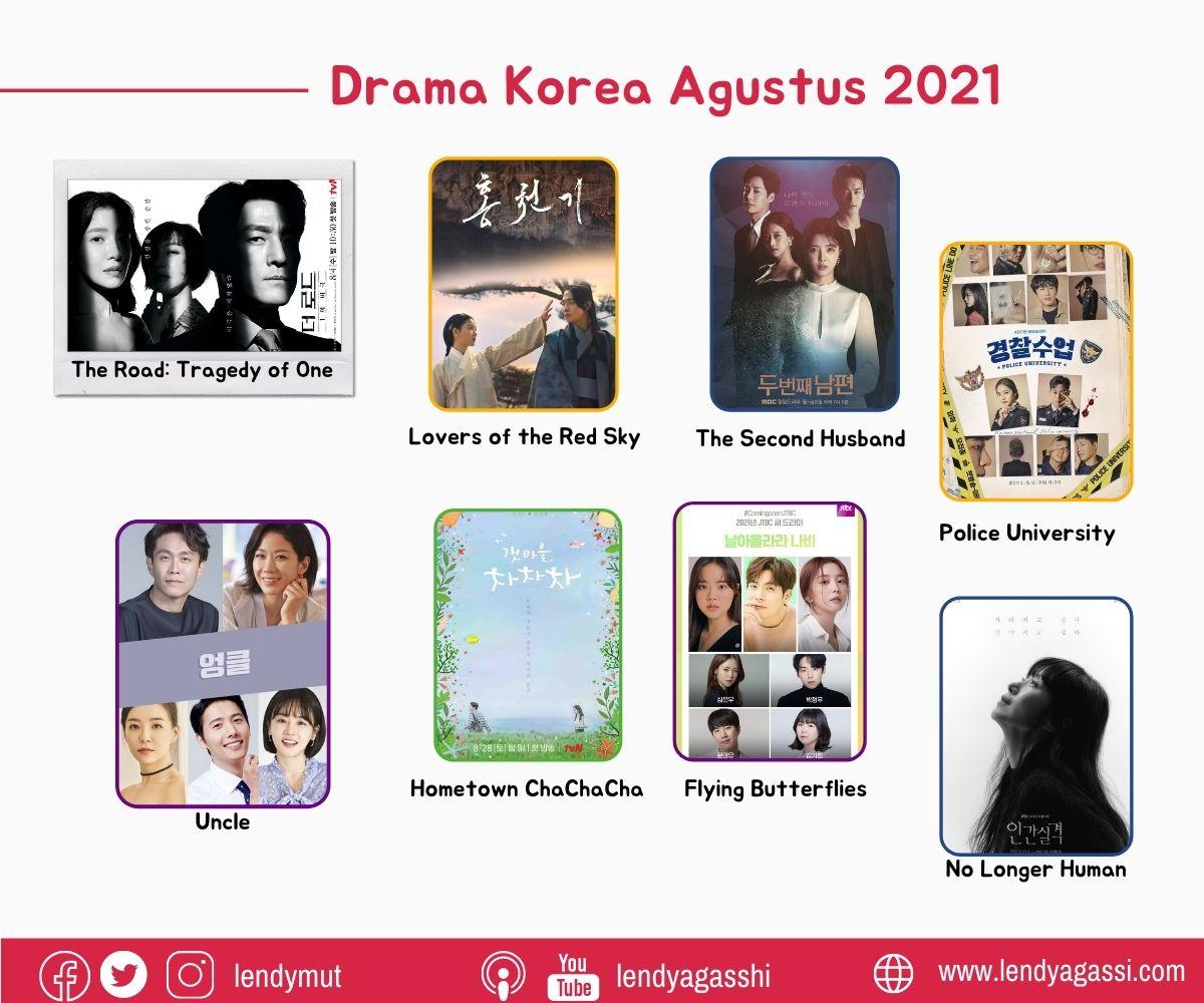 Upcoming Drama Korea Agustus 2021