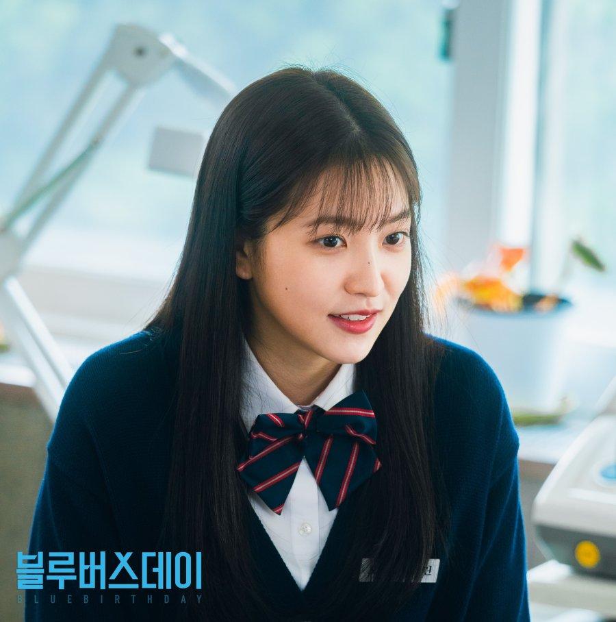 """Karakter Yeri """"Red Velvet"""" sebagai Oh Ha Rin dalam drama Blue Birthday"""