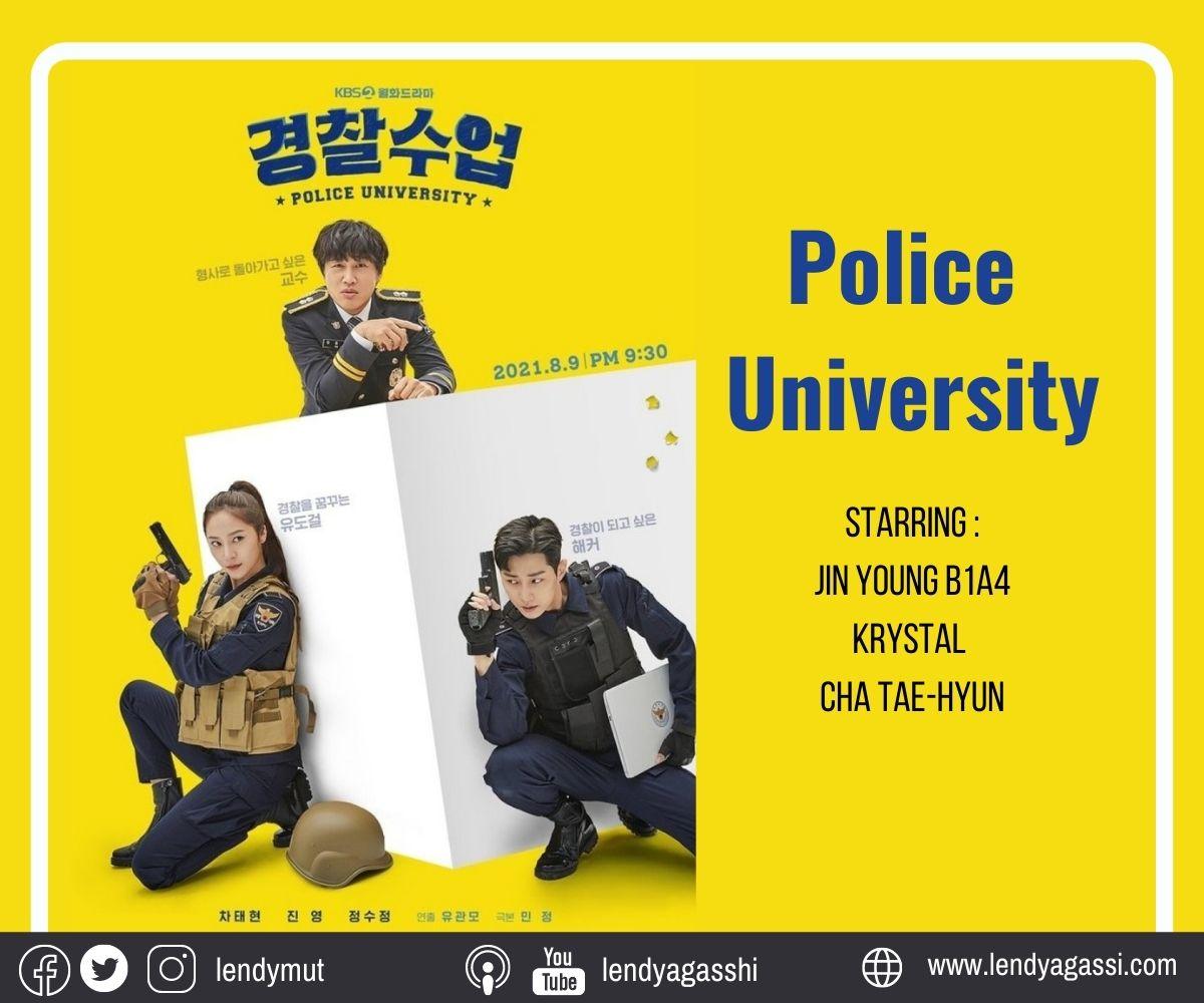 Sinopsis dan review drama Police University 2021