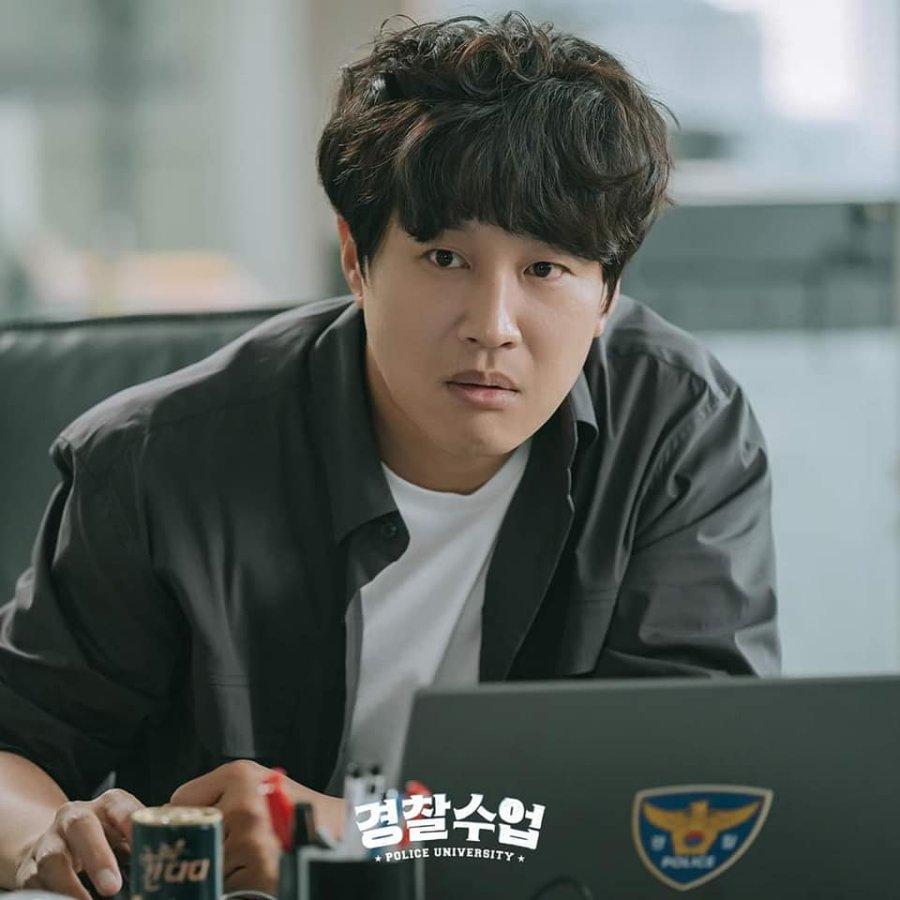 Review dan sinopsis drama Police University : Karakter Cha Tae-Hyun sebagai Yoo Dong-Man