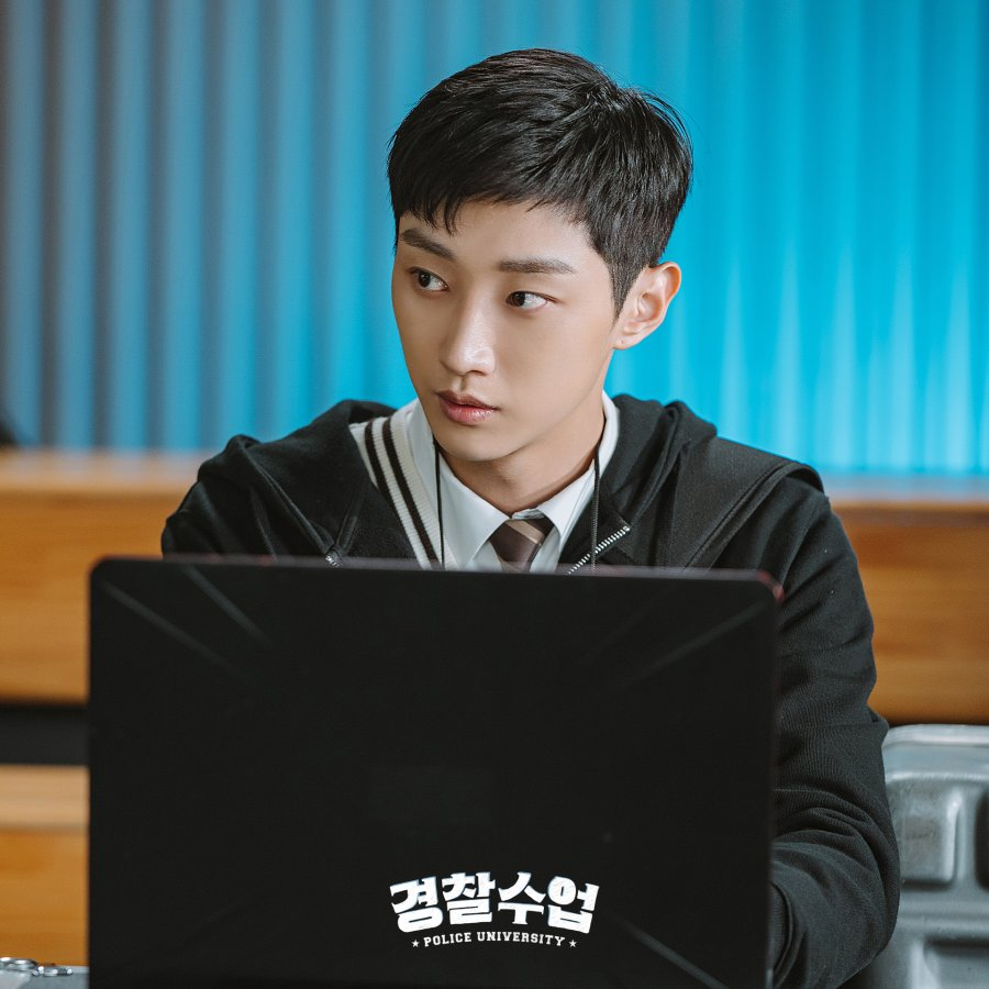 Review dan sinopsis drama Police University : Jin Young sebagai Kang Sun-Ho