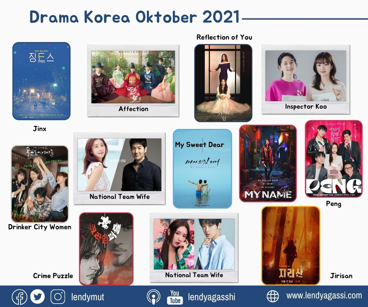 List Drama Korea tayang bulan Oktober 2021, Drama Korea Terbaru