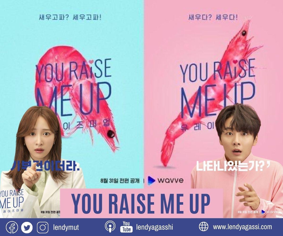 Review dan sinopsis drama You Raise Me Up Yoon Si Yoon dan Hani EXID